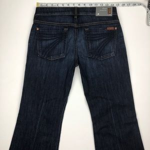 7 For All Mankind Jeans - NWT 7 for all mankind dojo flare jeans 28x32